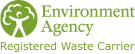 Registered Waste Carrier Environment Ageny Logo