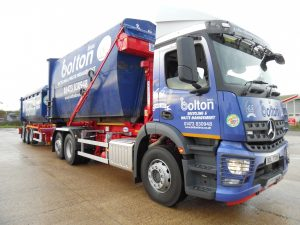 Bolton Brothes Waste Management Vehicle